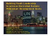 GYAN and the UN MDGs