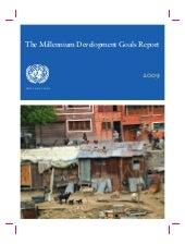 The Millennium Development Goals Re...