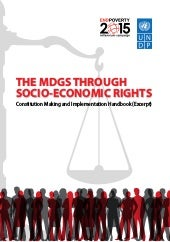 THE MDGS THROUGH  SOCIO-ECONOMIC RI...