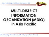 Rotaract Multi-District Information...