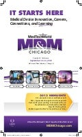 MD&M Chicago Official Brochure
