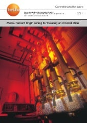 Measurement Engineering for Heating...