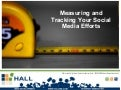 Measuring and Tracking Your Social Media Efforts