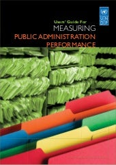 User's Guide to Measuring Public Administration Performance