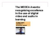 The MEDEA Awards: recognising excel...