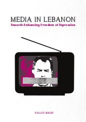 MEDIA IN LEBANON.Towards Enhancing ...