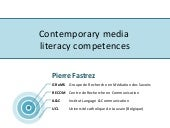 Contemporary media literacy compete...