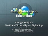 Media Literacy in Education