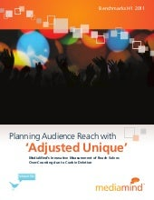 Planning Audience Reach with 'Adjus...