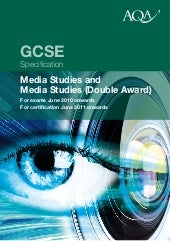 AQA Media Studies GCSE Spec