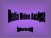 Media Video Analysis
