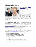 Medical Billing Service, Medical Billing Services, Billing Service