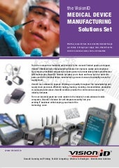 Medical Device Solutions Brochure