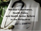 Medical Governance and Health Polic...