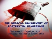 Medical management of postpartum he...