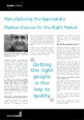 Manufacturing the Appropriate Medical Devices for the Right Market - Thomas M. Loarie, Executive Chairman, Mercator MedSystems, Inc.