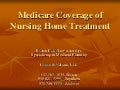 Medicare coverage of nursing home