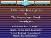 Death Scene Investigation