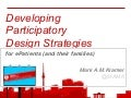 Developing Participatory Design Strategies for ePatients