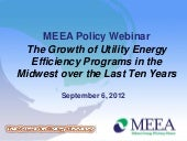 MEEA Policy Webinar: The Growth of ...