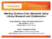 Cengage Learning Webinar, Library &...