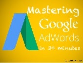 Mastering Google Adwords In 30 Minutes