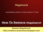 Remove MegaSearch Quickly From vict...