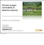 Climate Change Vulnerability and Ad...