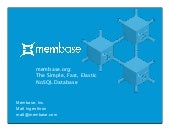 Membase Introduction