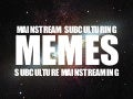 Exploring Memes - Subculture vs Mainstream