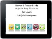 Apps for Teachers by Gail Lovely