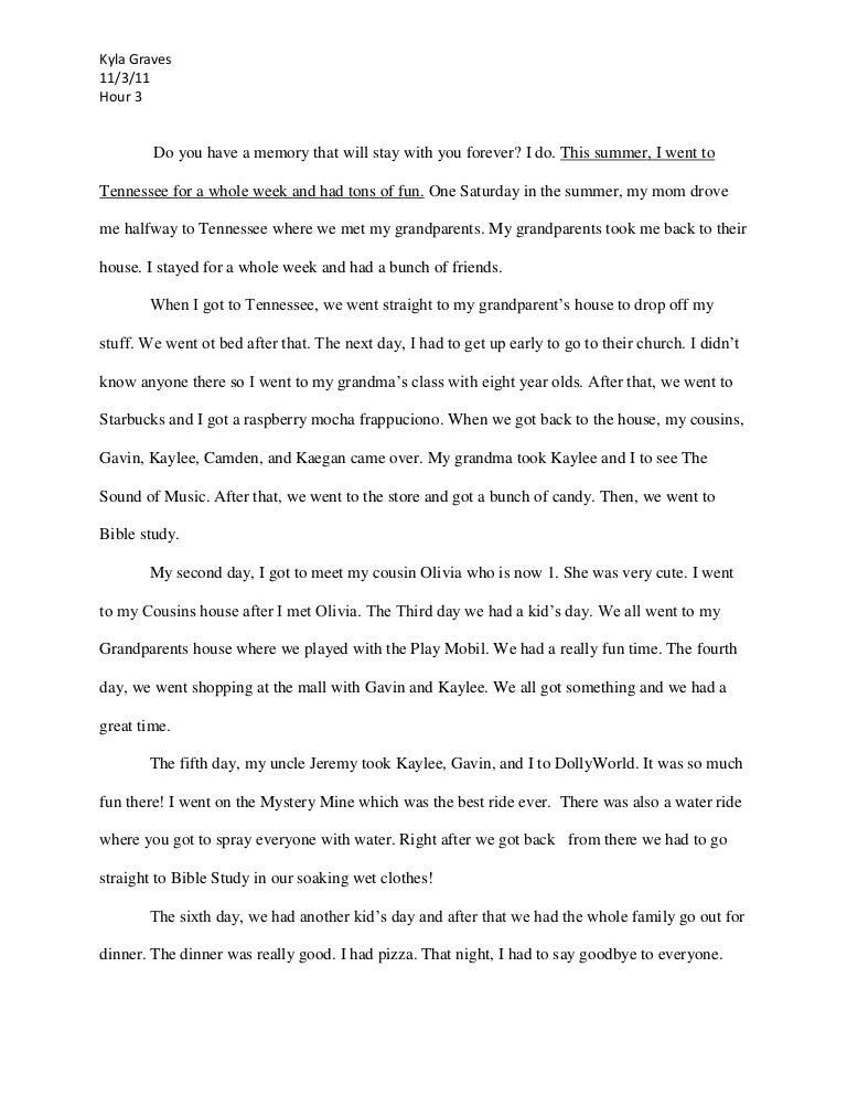 A Modest Proposal Essay Topics When Will I Ever Use This An Essay For Students Who Have Ever My  Narrative Essay Example For High School also Process Essay Thesis Statement Essay On Childhood Memories  Romefontanacountryinncom Obesity Essay Thesis