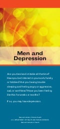 Global Medical Cures™ | Men and Depression