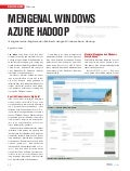 Mengenal Windows Azure Hadoop