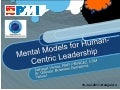 Mental models for human centric leadership