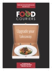 Food Couriers Menu Guide 2012