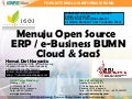 Menuju BUMN Open Source ERP / e-Business Cloud & saa s v revisi