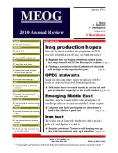 Meog 2010 annual review