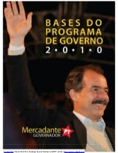 Mercadante Governador 2010