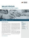 Mercer Capital's Value Focus: Professional Services Industry | Mid-Year 2014