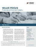 Mercer Capital's Value Focus: Professional Services Industry | Year-End 2014