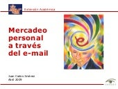 Mercadeo personal a traves del e-mail