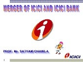 Merger of icici & icici bk