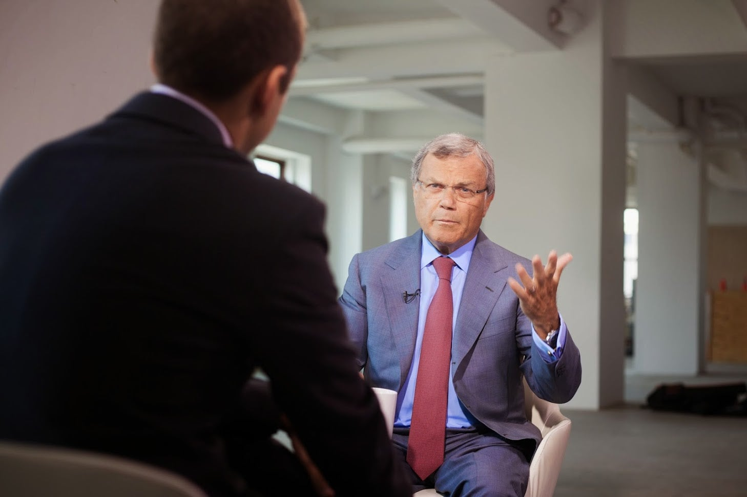 Sir Martin Sorrell on the State of M&A and the Failed Publicis Omnicom Merger