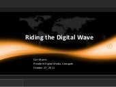 Keynote: Riding the Digital Wave