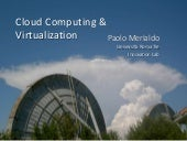 Paolo Merialdo, Cloud Computing and...