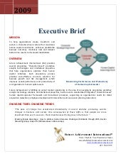 Merit Profile Executive Brief
