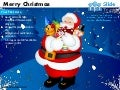 Merry christmas santa claus presents powerpoint templates.
