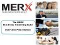 Merx Electronic Tendering Suite