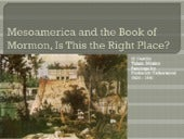 Mesoamerica and the Book of Mormon